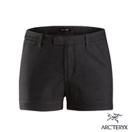 Arcteryx 始祖鳥 24系列 女 Devis 防潑吸濕 休閒短褲 碳纖維灰