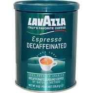 LavAzza Premium Coffees Decaffeinated Ground Coffee Espresso 8 oz (226.8 g) - 2pcs