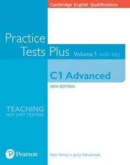 Cambridge English Qualifications: C1 Advanced Volume 1 Practice Tests Plus with key