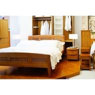 詩肯柚木 床架 5尺標準雙人床
