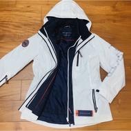 全新 2件式 Tommy Hilfiger衝鋒衣 三合一 防風外套
