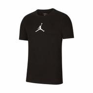 【NIKE 耐吉】T恤 Jordan Jumpman Tee 男款 喬丹 飛人 圓領 棉質 基本款 穿搭 黑 白(CW5191-010)