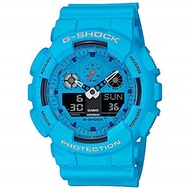 ▶$1 Shop Coupon◀  G-Shock by Casio Men s Limited Edition GA100RS-2A Analog-Digital Watch Blue