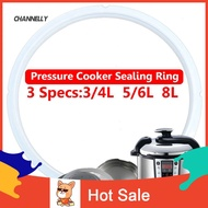 ■Cy 3/4/5/6/8L Instant Pot Electric Pressure Cooker Silicone Elastic Sealing Ring