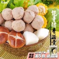 【KAWA巧活 任選1299】能量豬貢丸-香菇(300g/包)