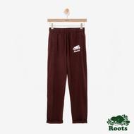 女裝ROOTS - 國際棉褲日系列窄版棉褲-紅色