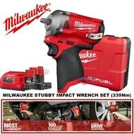 Milwaukee M12FIWF12-302 Stubby Impact Wrench