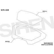 【LFM】SIREN 勁戰五代 3D版型儀錶螢幕犀牛皮保護貼膜 勁戰5代 ABS 碼表 保護貼 抗UV