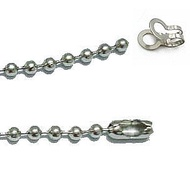 DIY巧手系列 珠鍊組 4.5mm*45cm S23-074 不鏽鋼 圓珠鍊 項鍊條 鍊子 鏈子 不鏽鋼鍊