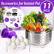 Electric pressure cooker accessories Accessories for Instant Pot Name: 11Pcs Set Accessories for Instant Pot Blue/Green/Purple 11-piece Instant Pot Electric Pressure Cooker Accessories