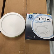 "Iwachi 7"" 18W Round LED Surface Downlight 1550lm"