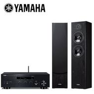 【YAMAHA 山葉】網路Hi-Fi二聲道音響組合(R-N303+NS-F51)