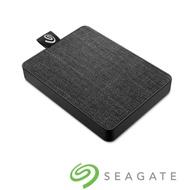 Seagate One Touch 500GB 外接式固態硬碟-霧夜黑