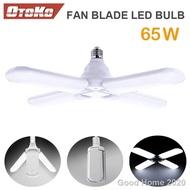 สินค้าพร้อมส่ง....ขายส่ง☬♧ Otoko หลอดไฟ LED ทรงใบพัด พับได้ ขนาด 25x17x9.5 cm ขั๊วหลอด E27 Fan Blade Bulb 65W..พรรณไม้ เมล็ดพันธุ์และหลอดไฟคุณภาพสูง..!!
