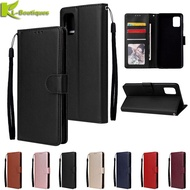 on For Funda Samsung Galaxy A51 Case Leather Flip Case for Etui Samsung A 51 Cover Galaxy A71 A 71 Phone Cases Wallet Cover