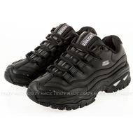 SKECHERS Energy 老爹鞋 休閒鞋 增高 皮革 黑色 女生尺寸 # 2250BBK