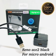 Travel Charger Oppo Reno Ace2 65w Micro Casan Oppo Reno Ace2 65w Micro Flash Charger Oppo Micro