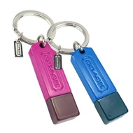 【COACH】金屬造型8GB隨身碟鑰匙圈(展示品/任選)