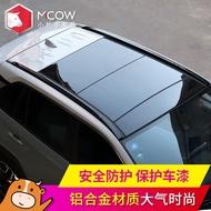 壹家一店鋪適用2020款20豐田榮放RAV4行李架原廠車頂架橫桿改裝飾配件旅行架