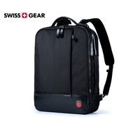 【SWISSGEAR】 瑞士軍刀 SG-25 後背包 雙肩 橫式手提兩用 15.6吋筆電 商務 旅行背包 正品