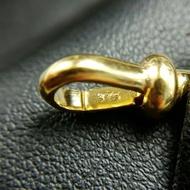 [] - ล็อตใหม่*สปริงก้ามปูทองคำแท้ 9K ตอก375 แขวนพระ