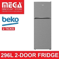 BEKO RDNT340I50VZX 296L 2-DOOR FRIDGE (2 TICKS)