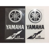 YAMAHA 50週年套貼 (BWS BWS-R 勁戰四代 T-MAX S-MAX FORCE LINI RS-ZERO