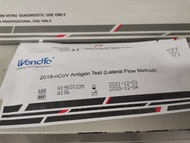 Antigen test highly accurate wondfo