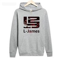 【現貨快速出貨】🏀NBA🏀騎士 Lebron James男女籃球運動休閒秋冬連帽衛衣外套衣服學生內刷毛 保暖衣