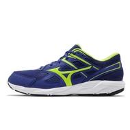 Mizuno 慢跑鞋 Maximizer 23 藍 螢光綠 男鞋 美津濃 運動鞋 入門【ACS】 K1GA2100-27