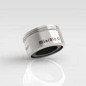 《MinBle》MinBle Q 微氣泡起波器(M24外牙版)