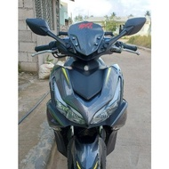 popular Quick Throttle Rain Visors Motorcycle accessories ✍Yamaha Aerox V1 V2 2021 side mirror with Bracket