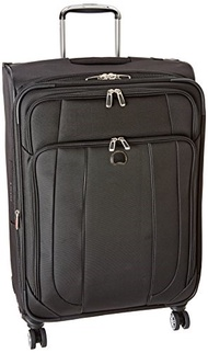 DELSEY Paris Delsey Luggage Helium Cruise 25 Inch EXP Spinner Suiter Trolley, Black, One Size