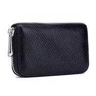 กระเป๋าหนังสำหรับผู้ชาย,กระเป๋าใส่บัตรเครดิตและบัตรแบบเรียบง่ายสำหรับผู้หญิงกระเป๋าใส่บัตรสำหรับเดินทางกระเป๋าสตางค์ใบเล็ก
