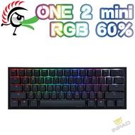 Ducky ONE 2 mini RGB 60%機械式鍵盤 中文英文 硬派精璽