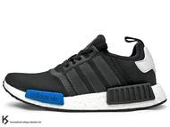 2016 詢問度極高 限量發售 BOOST 專利能量回饋避震系統搭載 adidas NMD R1 RUNNER 1 TOKYO 東京 男鞋 黑白藍 透氣網洞鞋面 (S79162) !