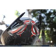 【彩貼XD】DRG.158.尾燈反光貼紙.3M反光貼.機車貼紙.龍.SYM DRG158.尾燈.反光貼紙