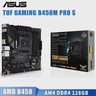 Socket AM4 Asus TUF GAMING B450M-PRO S Motherboard M.2 CrossFireX DDR4 128GB PCI-E 3.0 DVI Desktop AMD B450 Placa-Mãe AM4 Gaming