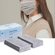 口罩現貨三層滅菌口罩灰白色現貨出貨 口罩 有現貨