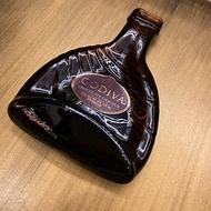 迷你收藏限定款GODIVA巧克力酒原瓶強力磁鐵 冰箱貼