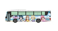 Mini 現貨 Tomytec 巴士 301615 N規 富士急行巴士 Aqours 塗裝巴士
