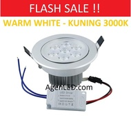 Ready Stock 7w Yellow 7w Watt Led Downlight Spotlight Spotlight 7w Watt Eyes 7watt Warmwhite
