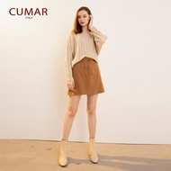【CUMAR】 交叉綁結造型-短裙(二色/3 set)