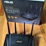 ASUS RT-AX3000 WiFi 6 (802.11ax) 路由器