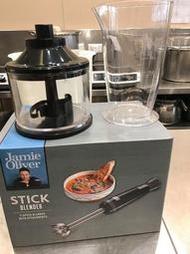 全新~英國名廚傑米奧利佛(Jamie Oliver)電動調理攪拌棒二件組*沒有電動攪拌棒器*