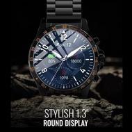 HiFuture - HiGEAR 智能手錶 - 【黑鋼版】|IP68 防水防塵|測心率 / 血氧/ 血壓|睡眠偵察|訊息提示| 10天使用時間