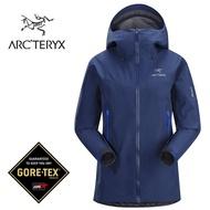 【ARCTERYX 始祖鳥 加拿大】Beta LT 透氣防水外套 風雨衣 防水夾克 女款 薄暮藍 (L07062100)