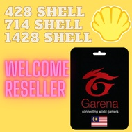 Garena Shell Pin TOP UP (100% Original & Legit)