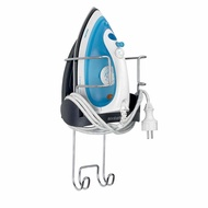 Brabantia Wall-Mounted Rest and Hanging Ironing Board Holder, Gray