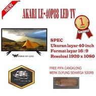 Akari LE-40P88 TV LED 40 inch Full HD-KHUSUS JABODETABEK